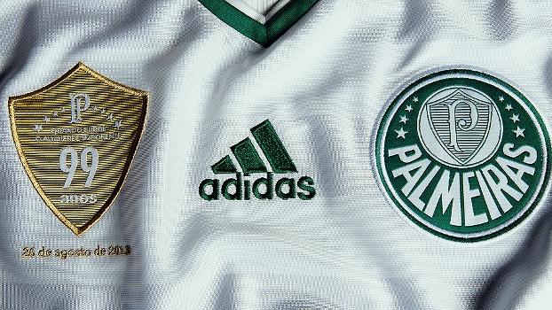 3cf54b949be98 Adidas fica na camisa do Palmeiras até dezembro de 2018 e garante ...