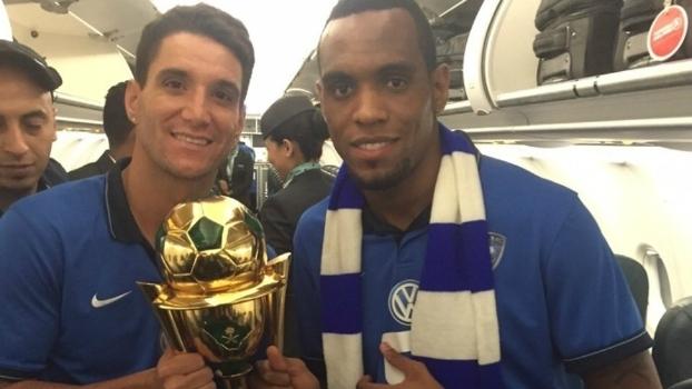 Thiago Neves e Digão foram campeões pelo Al Hilal