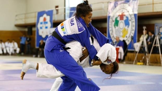 Ketleyn Quadros é a 44ª no ranking da Federação Internacional de Judô em sua categoria
