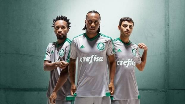 2350b9d302 Adidas divulga foto de nova camisa 3 do Palmeiras