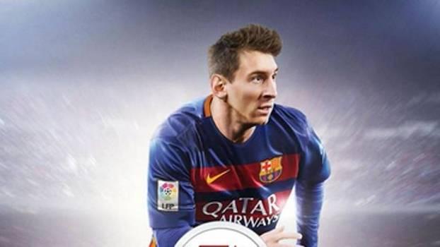 Capa do Fifa 16 tem Messi
