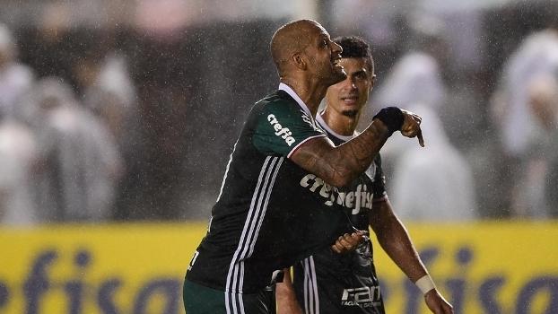 Felipe Melo provoca torcida do Santos