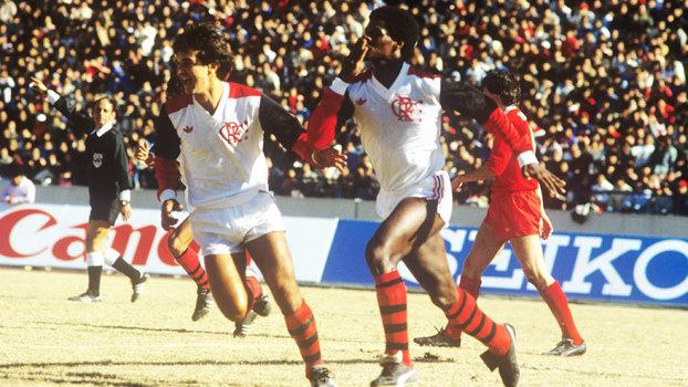 Flamengo foi campeão mundial em 1981, com vitória sobre o Liverpool