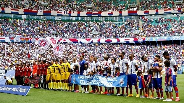 Bahia e Sport se encontraram nas semifinais da Copa do Nordeste de 2015