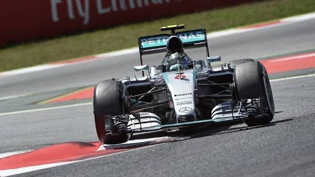 Rosberg venceu na Espanha