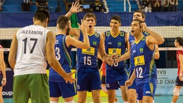 Seleção brasileira segue com grande campanha na Argentina