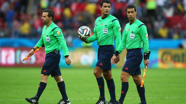 306ba703d6 Trio brasileiro que irá trabalhar na Copa do Mundo de 2018