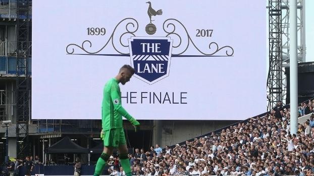 Tottenham jogou pela última vez no White Hart Lane