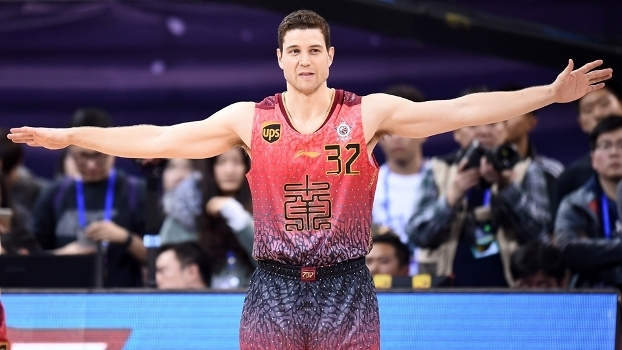 Jimmer Fredette, durante o All-Star Game da liga chinesa