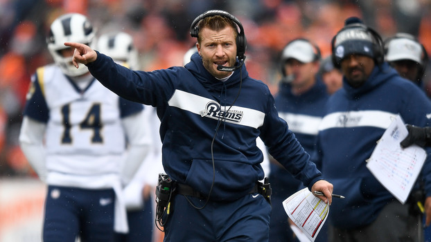 Sean McVay, técnico do Los Angeles Rams
