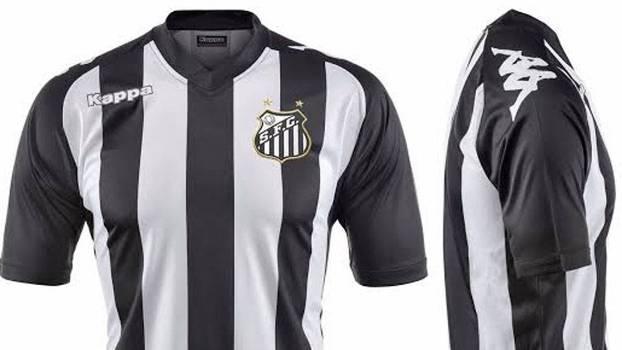 776bfe0052582 Santos e Kappa discutem novo modelo de camisa para o ano de 2016