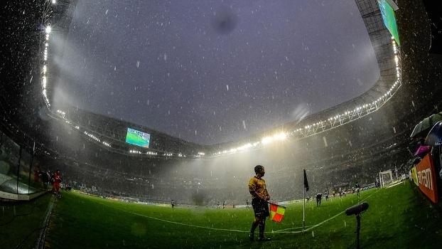 Allianz Parque em dia de partida do Palmeiras