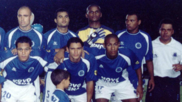 Jefferson foi revelado no Cruzeiro