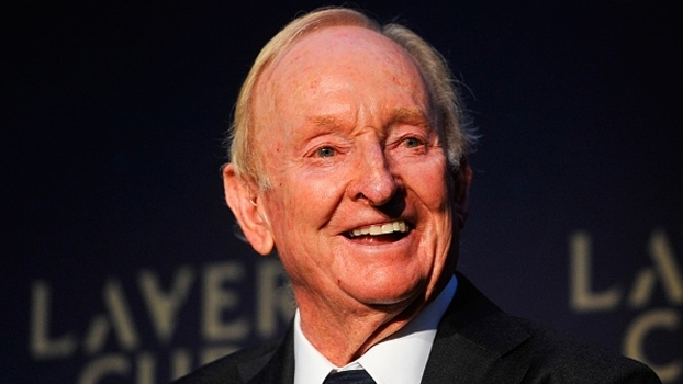 Lenda do tênis, Rod Laver é homenageado com nome do torneio