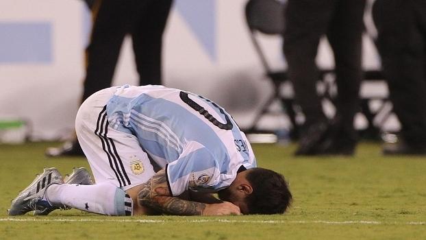 Messi perdeu pênalti e falou em despedida da seleção argentina