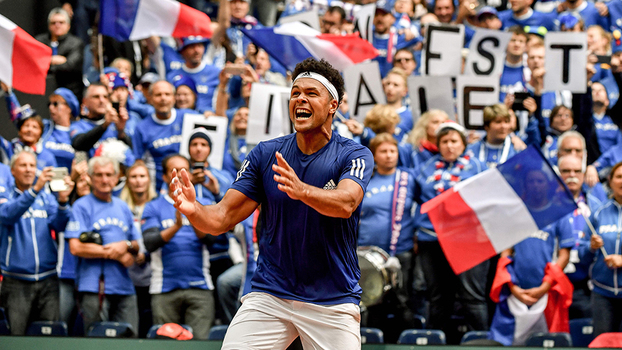 Tsonga foi decisivo e colocou França na final