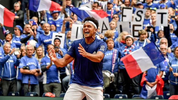 Tsonga foi decisivo e colocou França na final