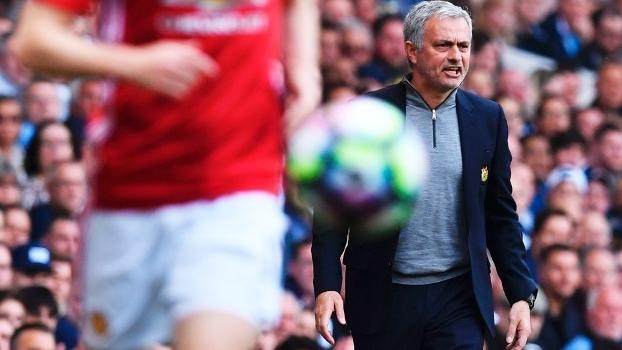 Jose Mourinho Manchester United Tottenham Premier League 14/05/2017