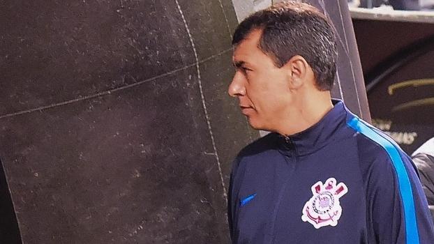 Carille treina o Corinthians desde o começo deste ano