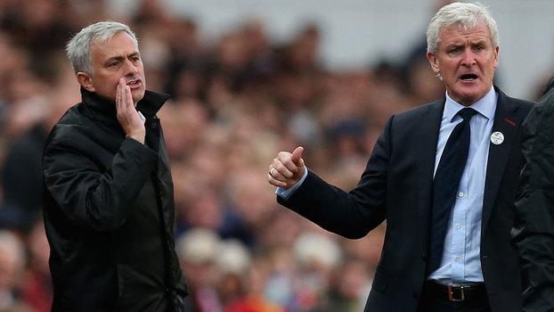 United escorrega no terreno do Stoke City e perde primeiros pontos