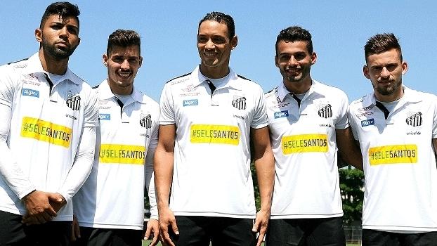Santos SeleSantos Futebol CT Rei Pelé GazetaPress 18/03/2016