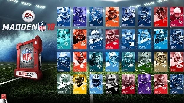 Os pacotes 'Elite players' terão alguns dos melhores jogadores da atualidade na NFL.