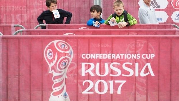 Fifa Copa Das Confederações Evento Rússia Kazan 06/05/2017