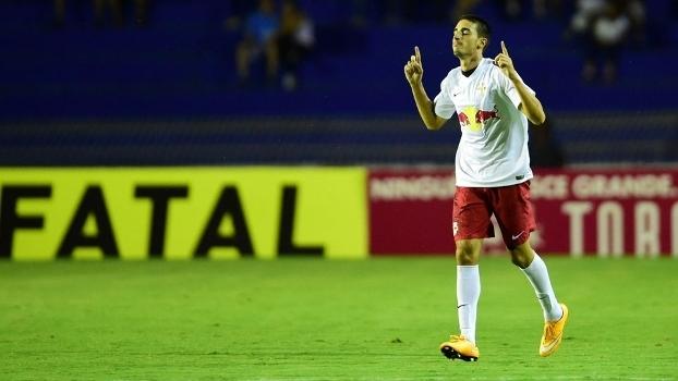 Red Bull comemora gol em cima do Santos