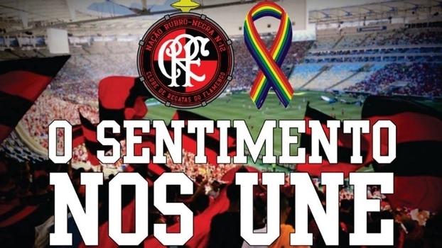 Nação 12 prometeu acabar com cantos homofóbicos contra o Fluminense