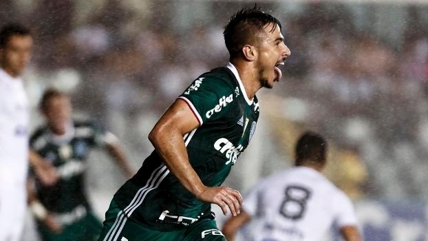 Willian marcou o gol da vitória do Palmeiras