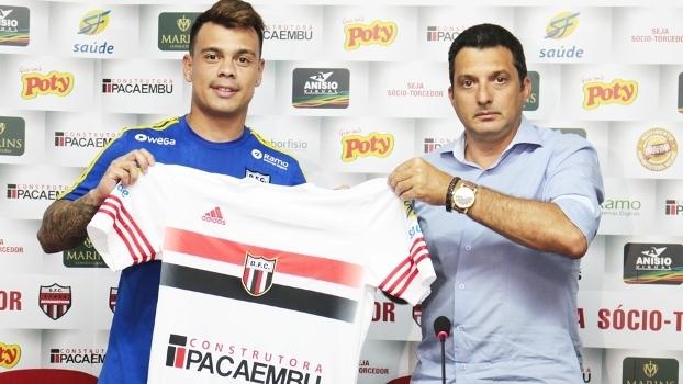 Bernardo Apresentação Botafogo-SP 04/01/2017