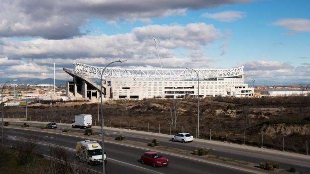 Atlético de Madrid confirma compra de novo estádio por R$ 100 milhões