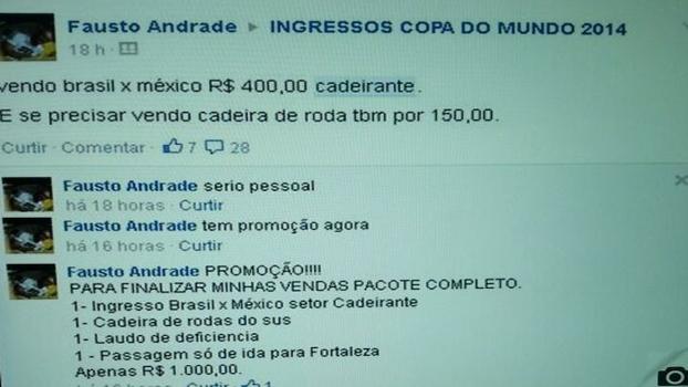 70b0918a99  Promoção  vende ingresso de cadeirante com cadeira de rodas do SUS e laudo  de deficiência