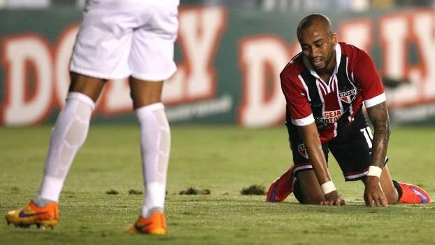O São Paulo, de Wesley, foi eliminado no último Paulistão pelo Santos