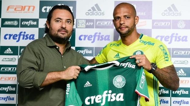 Áudio e entrevista de Felipe Melo mudaram postura do Palmeiras em ... 2c6f9c3eb28fb