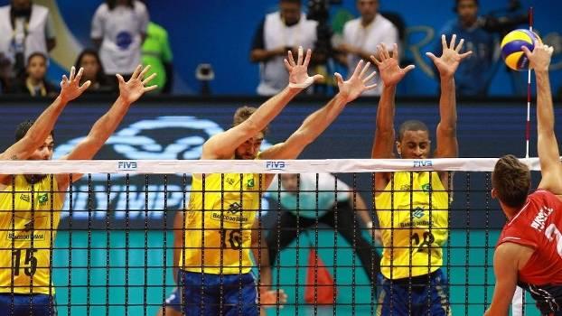 Brasil x EUA hexagonal final Liga Mundial 2015