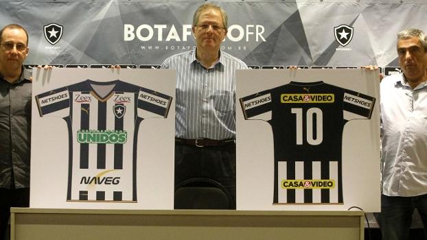 Botafogo apresenta cinco patrocinadores para clássicos contra ... 69e8babc237b4