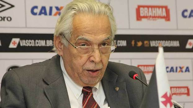 Eurico Miranda é candidato à reeleição no Vasco