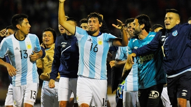 Tucuman Comemora Classificação El Nacional Libertadores 07/02/2017