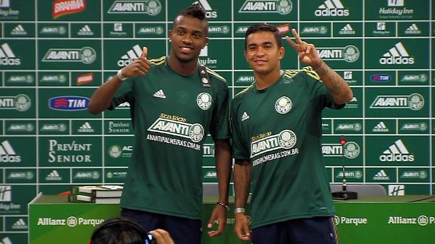 31212e9da6 Kelvin e Dudu são apresentados no Palmeiras
