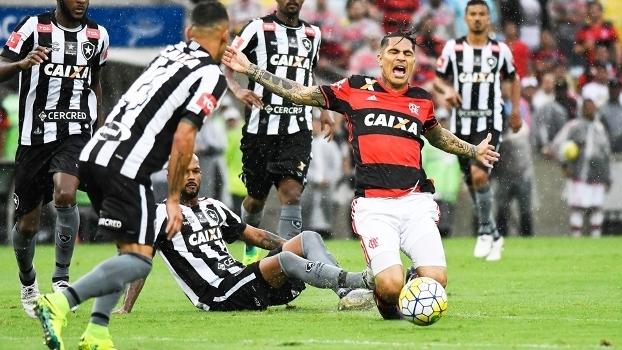 Guerrero Flamengo Botafogo Campeonato Brasileiro 05/11/2016