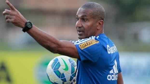 Cristóvão Borges na época que era técnico do Flamengo