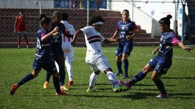 São José duelou contra o São Paulo na final do Campeonato Paulista feminino