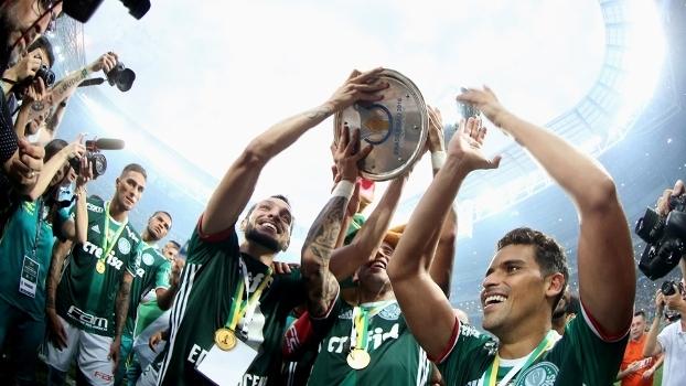 Allianz Parque em festa: o poderoso Palmeiras foi campeão brasileiro 2016