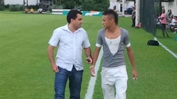 Musa e Neymar eram inseparáveis há cinco anos