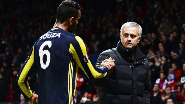 Souza Fenerbahce Jose Mourinho Manchester United Liga Europa 20/10/2016