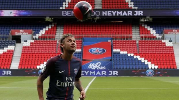 Com multa paga, Neymar pode estrear esse domingo no PSG