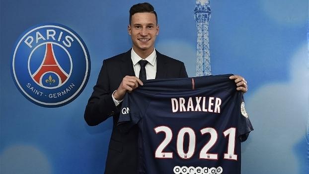 Julian Draxler é o novo reforço do Paris Saint-Germain