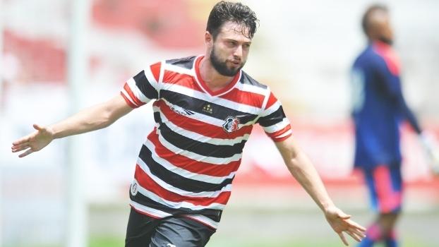 Joao Paulo Comemora Gol Santa Cruz Flamengo Amistoso 24/01/2016