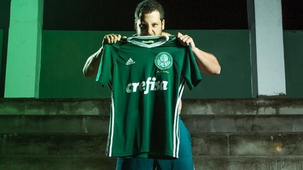 Palmeiras Nova Camisa Obsessão Verde Adidas 11 04 2017 9ccb94b19d94d